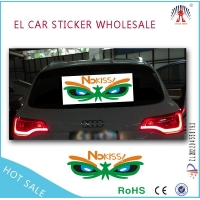 EL Car Sticker Product  professional el car sticker /equalizer el car sticker factory