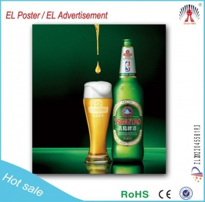 China China manufacture lighting el poster led posters wholesale at reasonable price on sale