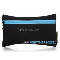 custom zipper pencil pouch case makeup bag holder neoprene
