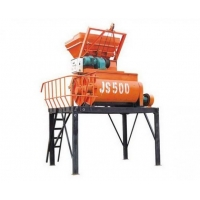 China JS500 Concrete mixer, JS series of forced type concrete mixer on sale