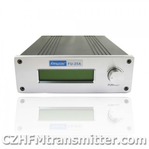 China FMUSER FU-25A 0-25W Professional FM stereo broadcast transmitter on sale