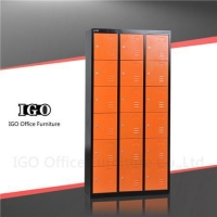 China 18 Doors Metal Lockers on sale