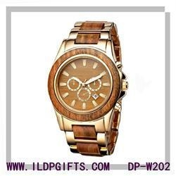 China Japan Movt Bamboo Wood Watch For Lover on sale
