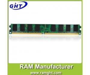 China desktop ram ddr2 2g work with all motherboards on sale