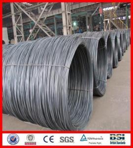China sae 1006b/1008b steel wire rod on sale