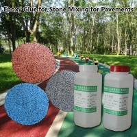 China Clear Epoxy Resin AB Glue on sale