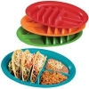 China M-1028 Set of 4 taco plates for sale