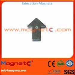 China Ferrite Educational Magnet Arrow Shaped on sale