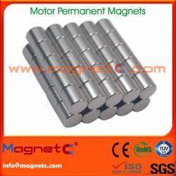 China Cylinder Neodymium Motor Magnet on sale