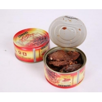 Canned fried jack mackerel with soy sauce