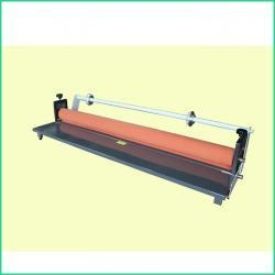 China 1300mm Manual Hand Crank Pressure Sensitive cold roll Laminator LBS1300Ⅱ on sale