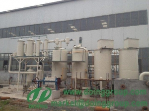 China Waste engine oil refining to diesel equipment on sale