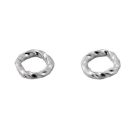 Sterling Silver Twist Rings