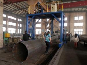 China CNC light pole production line on sale