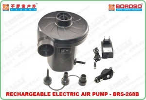 China Eletric Air Pump Rechargeable Air Pump BRS-268B on sale