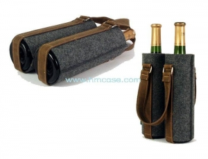 China Felt wine tote on sale