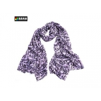 China Letters Printed Cashmere Custom Scarf on sale