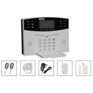China LCD Intelligent GSM alarm system on sale