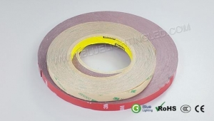 China LED strip light accessories double adhensive 3M tape on sale