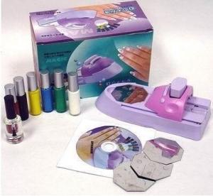 China 2012 DIY Nail Art Machine Printer With 7 Bottle Nail Polish on sale