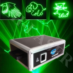 China mini 5w green laser projector for logo and stage light outdoor laser for christmas(LH-SAG5000) on sale