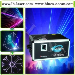 China RGB 10w christmas lights projector outdoor laser light show equipment for bar and club(LH-RGB295) on sale