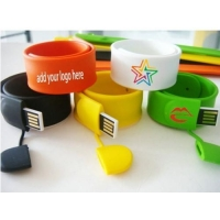 China personalised bracelet usb memory 8gb factory price on sale