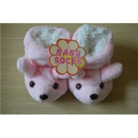 China Puppy cartoon first walker baby shoes on sale