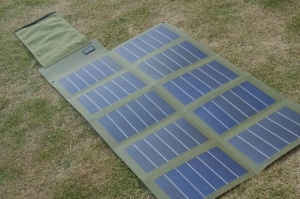 China 24W 18V folding and flexible solar panel chager on sale