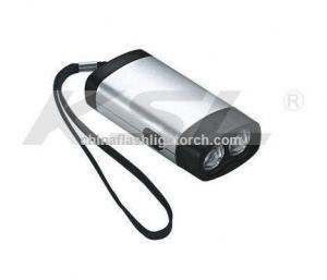 China Cranking dynamo led flashlight,Winding up charger,Emergency light on sale
