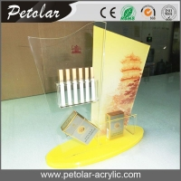 China custom acrylic display case for cigarette on sale