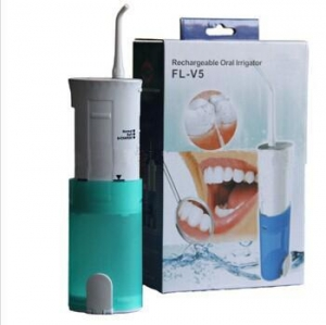 China Rechargeable portable electric operated dental oral irrigator spa jet nozzle on sale
