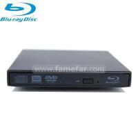 China USB 2.0 External Blu-ray Burner Drive Black(Classic series) on sale