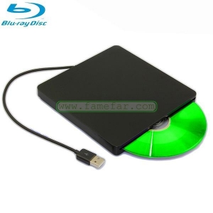 China Slot-Loading USB Blu-ray Burner & Player for MacBook Pro (works with all other Macs too) on sale