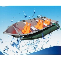 China 3 person small aluminum fishing boats for sale on sale