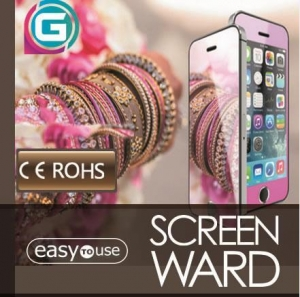 China Mirror Colorful Tempered Glass Screen Protector on sale