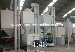 China 3-5TPH Concentrated Feed plant on sale