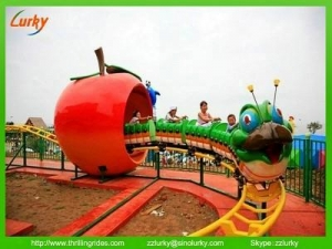 China Park Caterpillar roller coaster amusement thrilling rides on sale