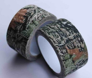 China synthetic rubber adhesive Camouflage tape 8032 on sale