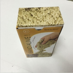 China 1kg Kinetic Sand with Colored Box on sale