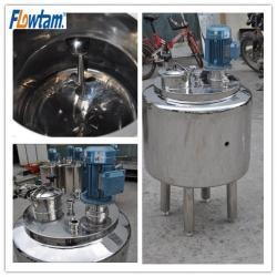 China stainless steel mixing tanks on sale