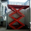 China aerial work scissor lift for sale