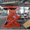 China scissor elevating for sale