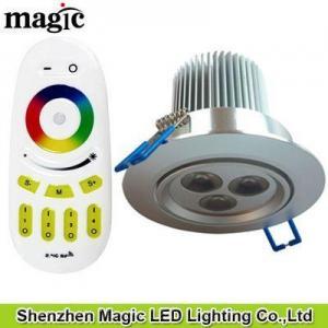 China RF RGB LED Downlight on sale