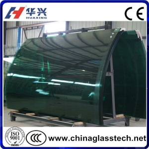 China Bent Tempered Glass on sale