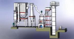 China Three Ring Medium Speed Micro Powder Grinding Mill on sale