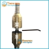 China Gold nimbus atomizer with huge vapor with dry herb clearomizer Nimbus electronic cigarette for sale
