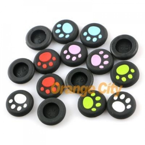 China For PS4 PS3 Xbox360 xbox one Controller CAT PAWS Thumb Analog stick Grips silicone cap on sale