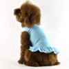 China Blank Dog T-Dress - blue for sale