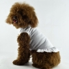China Blank Dog T-Dress - white for sale